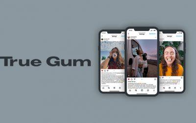 Kaugummi kauen ohne Gewissensbisse: Influencefire-Kampagne für TrueGum.